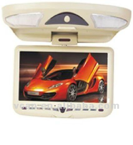 9 inch car video dvd player with Compatible with MP4,DVD,VCD,SVCD,CD,CD-G,MP3,JPED vcan0262