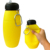 Flip Straw Silicone Custom Dumbbell Foldable Water Bottle Manufacturing