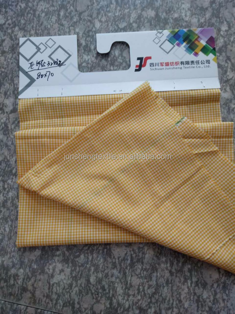 polyester and cotton 65/35 32sx32s 80x70/wholesale/shirting fabric