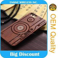 chinese phones spares for iphone 6 wood case factory directly sale