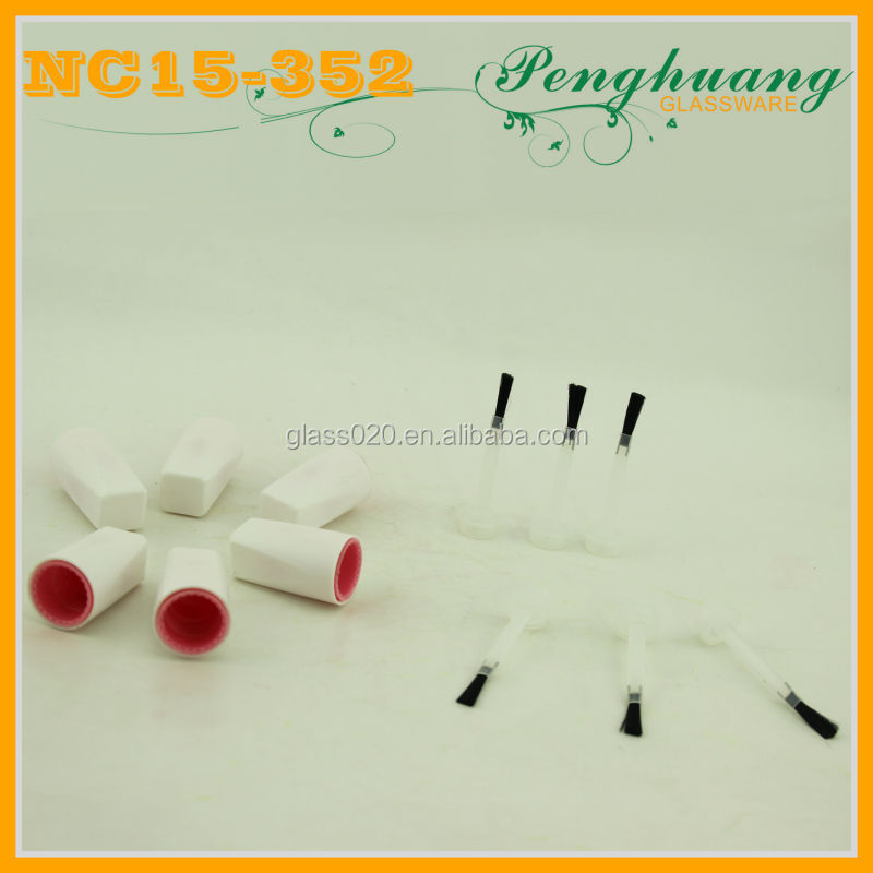 double nail cap with flat brush 15mm screw