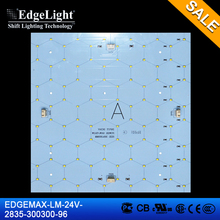 Edgelight 2835 high power LED Backlit modules EM-LM-D-24V-300300-2835-96-A-ECO