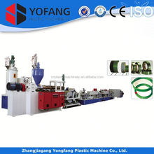 plastic single screw extruder machine for pp strap band manufacture