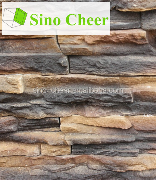 Hot selling walling slate culture stone molds artificial culture stones for exterior wall house