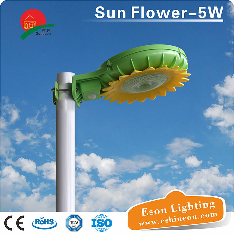 5w led Outdoor led garden solar lights