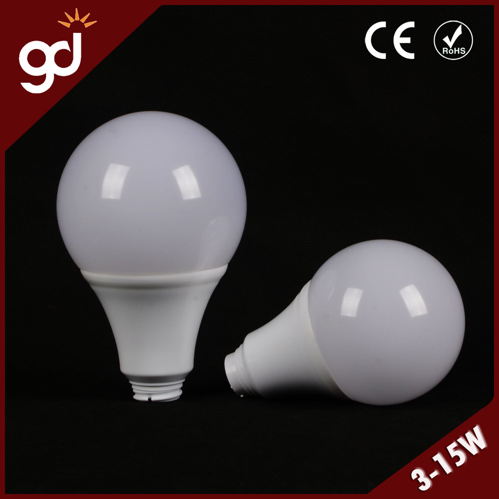 different types mechanical manufactured round dome PC led bulb housing