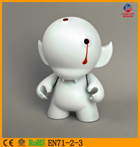 FACTORY 3D OEM factory Custom Plastic blank movable action figures