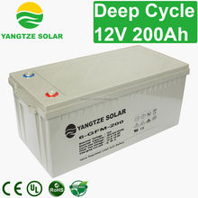 deep cycle 12v 200ah sunrise rechargeable battery