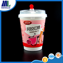 Disposable Food Grade drink paper cup for cold drink and milk tea