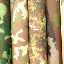 Printed fabric for military uniform/tent/bag