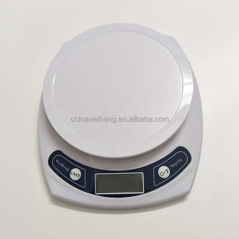 Large platform LCD readout digital health food kitchen scale