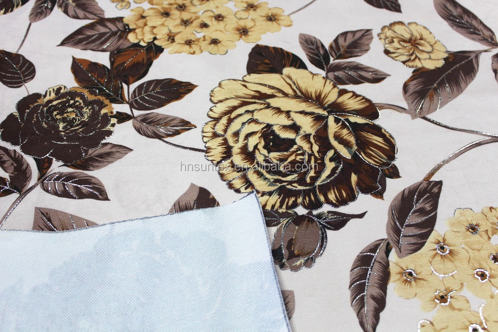 100%polyester sofa cover material textile for sofa
