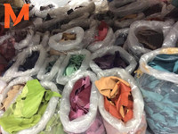 waste cow leather scrap for bags shoes