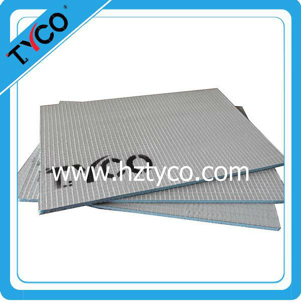 Under tile electric floor heating system with heaing cable