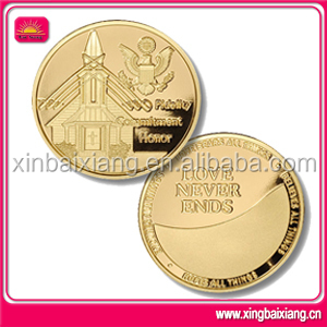 New design custom metal wedding souvenir coins craft