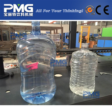 3L 5L 10L PET plastic bottle semi automatic blow molding machine