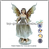 Resin 2014 new products spring garden angel fairy