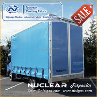 40 ft container Side Curtain cargo type trailer truck
