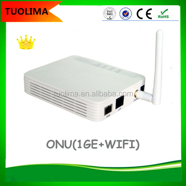 High Quality 1GE port Gpon onu mall