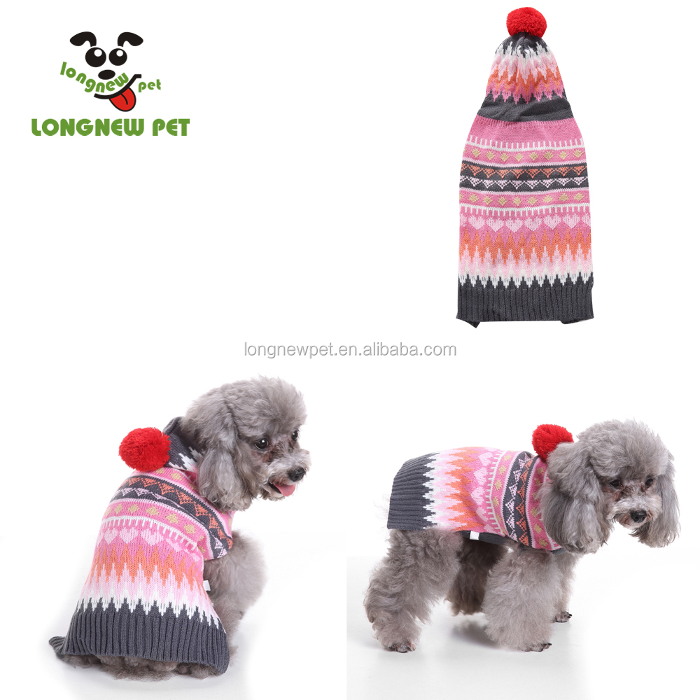 Merry Christmas Pet Dog Sweater Cute Clothes for Large Dogs