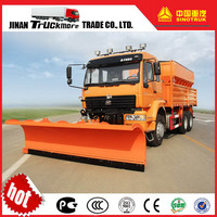China GOLDENPRINCE 6x4 Airport Snow Plow Truck