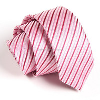 Checked Men Polyester Jaquard Neck Tie