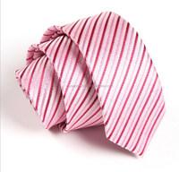 checked men silk jaquard neck tie