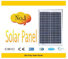 pv solar panel support 30WP