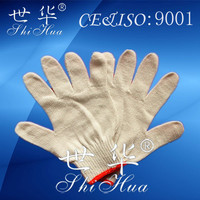 safety cotton glove driving gloves cheap mechanic gloves