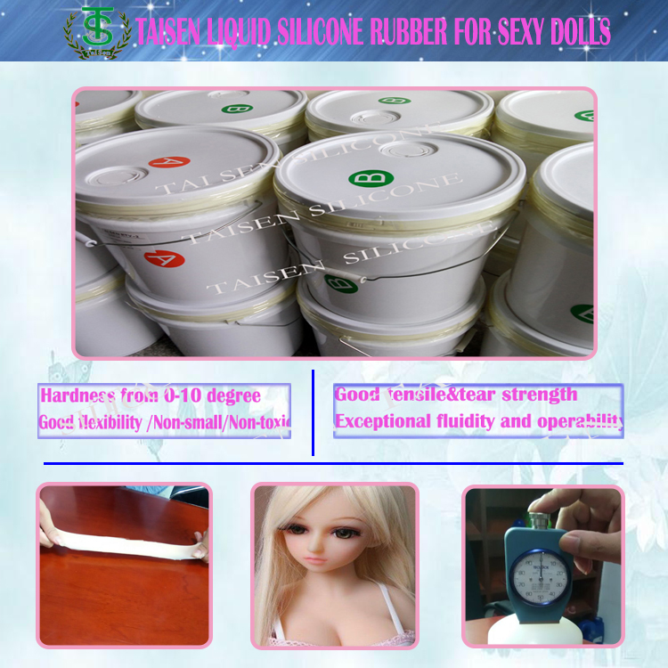 Room temperature curing silicone encapsulating glue good quality rtv liquid silicone for real doll