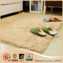 water absorb soft microfiber chenille bath rug