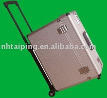 Customized durable Shockproof hard Germany style Aluminum air cases, trolley case, aluminum luggage case