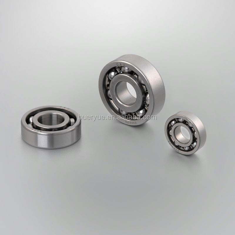 miniature bearing with rubber seal