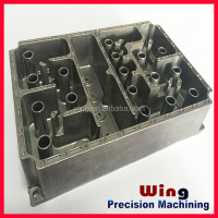 customized cad drawings heatsink die casting aluminium auto parts