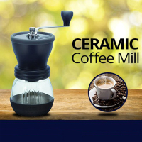 Dishwasher Safe Coffee Mill Ceramic Burr Coffe Grinder
