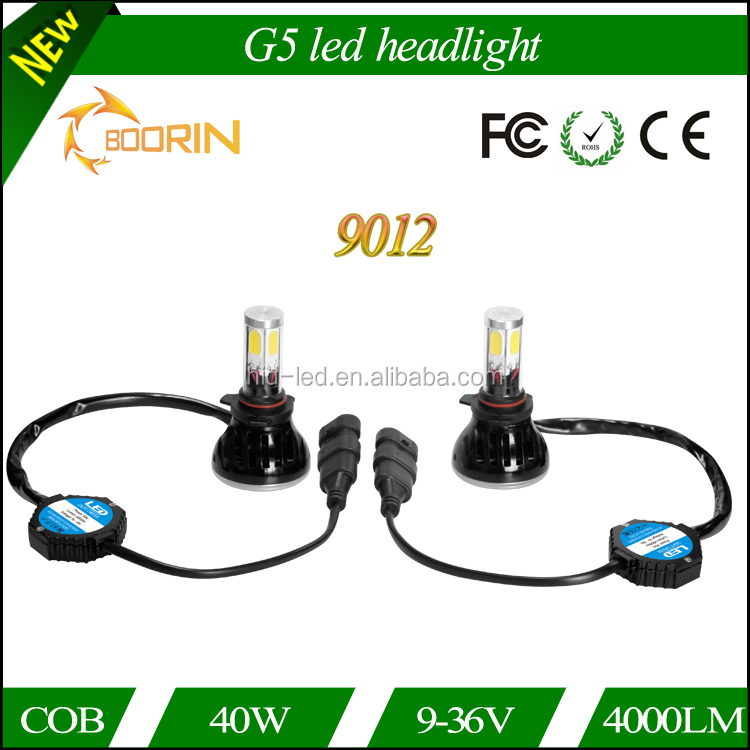 innovative car accessories for fiat freemont dodge journey car led bulbs 9012 led headlight