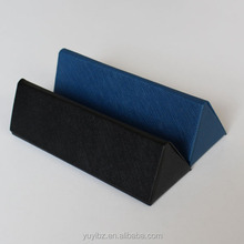 folding glasses case PU leather spectacle case