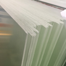 Ultra White Low Iron Solar Glass Panles with AR coating