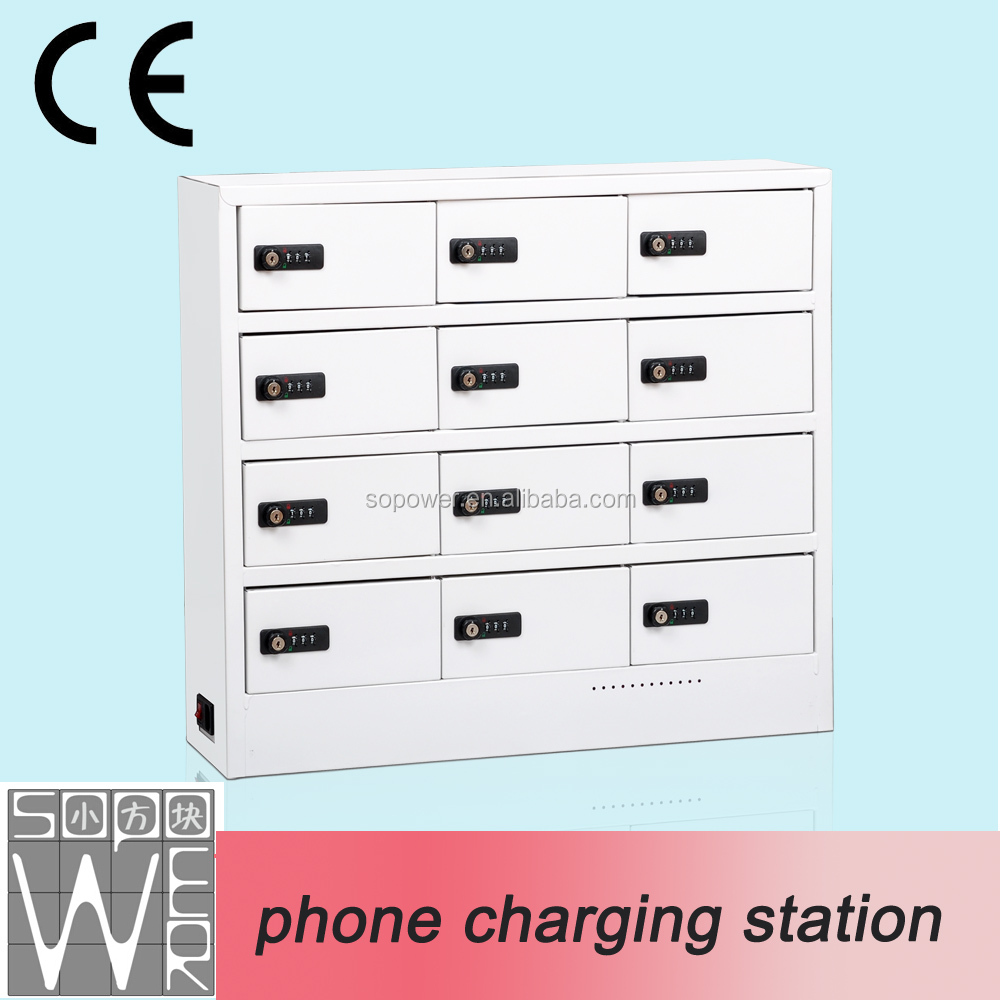 China manufacture mobile phone charging vending machine outdoor battery rechargeable locker cell phone charging station
