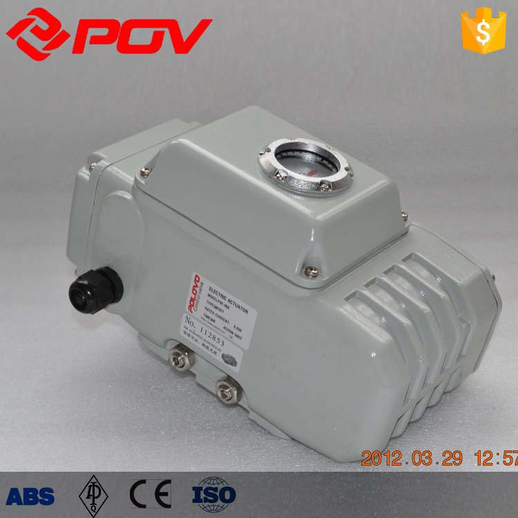 high quality oil g77 turbo 12v quarter turn electric actuator