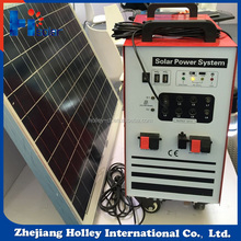 Innovative products 30W PWM Charge control suitcase solar power system