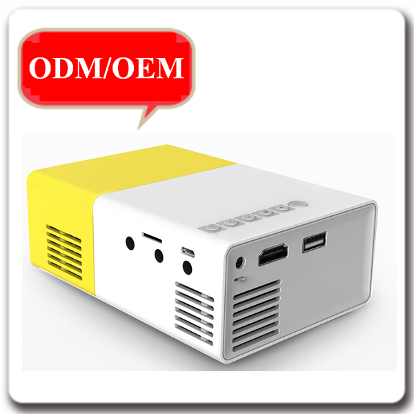 Manufacturer Portable mini 320x240 Full HD DB300 LCD Projector