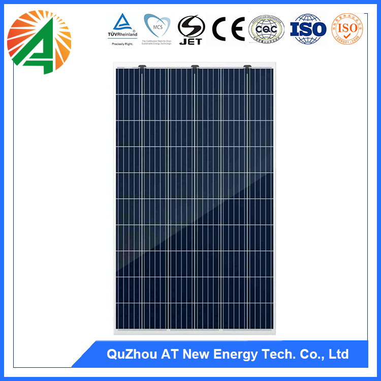 5BB Black frame polycrystalline solar panel 260w