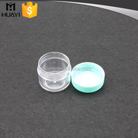 5g wholesale clear cosmetic plastic container with lid