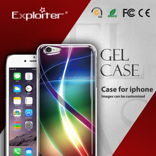 Beautiful chinese custom tpu cellular phone cover case for 3d case iphone 5