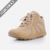 Beige Lace Up Ankle Shoes Low Cut Shoes Military Tactical Shoes for Training