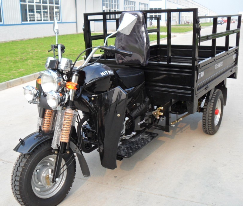 2016 top quality cheap china best cargo truck 200cc three wheel motorcycle
