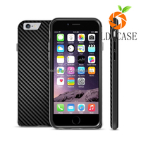 Factory wholesale cheap price back cover phone case carbon fiber for Iphone 6S, for Iphone 6 carbon fiber cover case