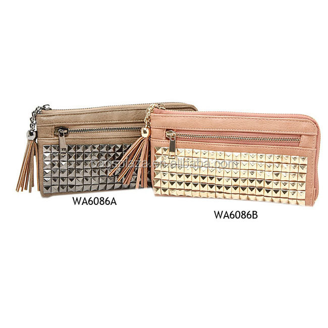 fashion ladies wallets and purses lady purse woman wallet purse china supplier WA6086