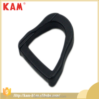 Top quality diameter 2 cm backpack ajustable pom plastic buckle black